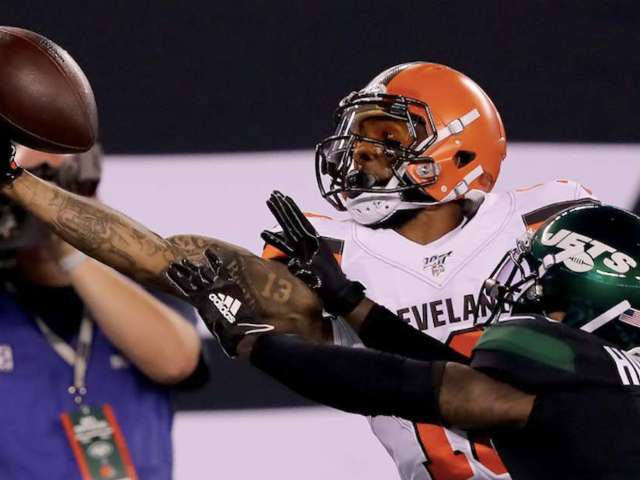 Odell Beckham Jr. Makes Another Wild One-Handed Catch, Twitter Reacts