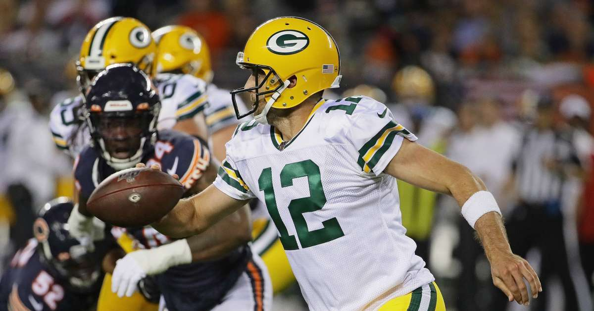 Packers Bears highest rated kickoff game three years