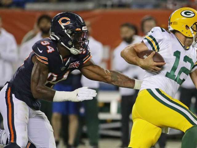 Packers, Bears Hot-Mic Reveals NSFW Sentence That Has Fans Firing up the Comments Section