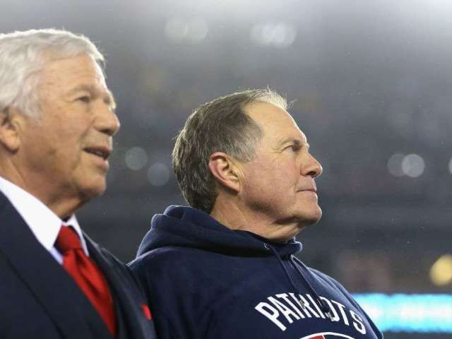 Bill Belichick and Robert Kraft Reportedly Disagreed on Cutting Antonio Brown