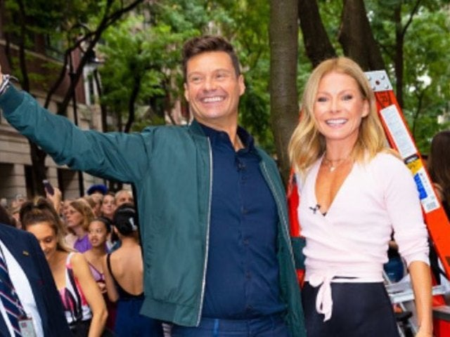 Kelly Ripa Shows Ryan Seacrest How Mammograms Work in Hilarious 'Live With Kelly and Ryan' Clip