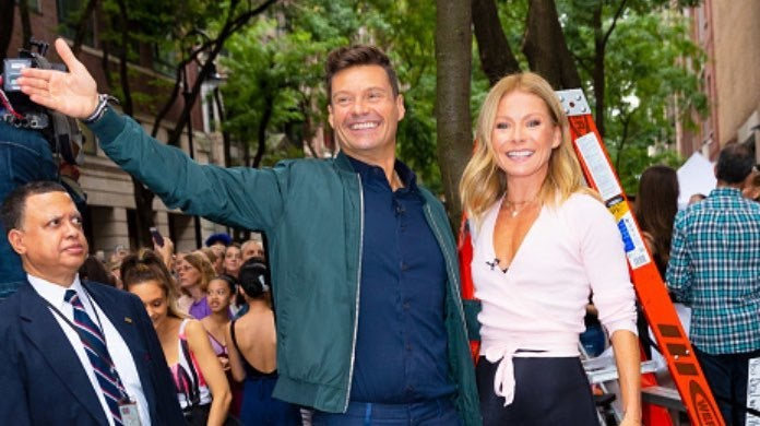 Ryan Seacrest and Kelly Ripa-2
