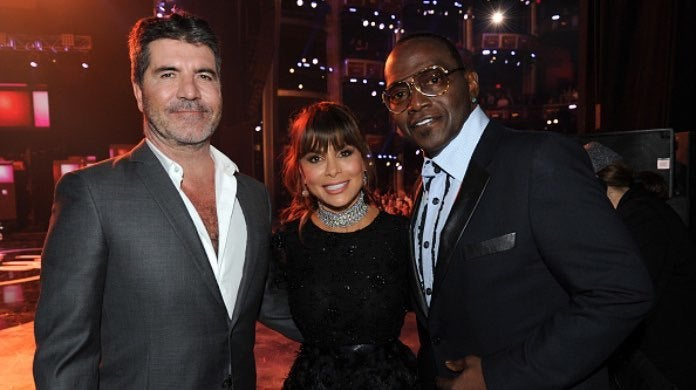 Simon Cowell, Paula Abdul and Randy Jackson-2