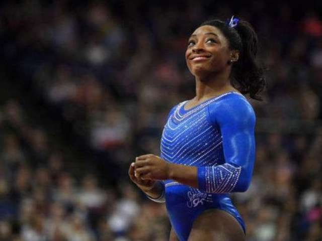 Simone Biles Opts to 'Drink Happy Thoughts' in Wake of Brother's Arrest for Triple Murder