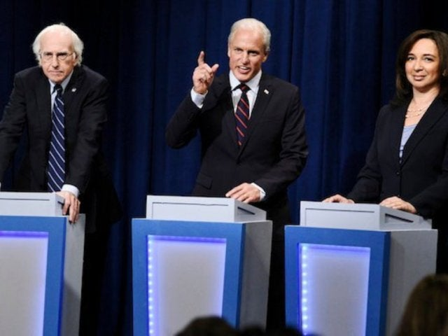 'SNL': Maya Rudolph and Larry David Make Cameos in Democratic Debate Sketch