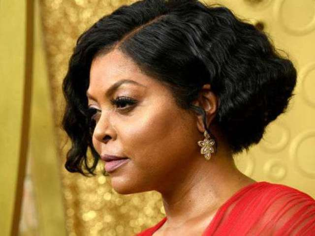 Emmys 2019: Taraji P. Henson Struts Red Carpet Like a Queen in Hilarious Fashion