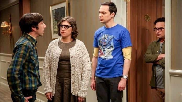 the big bang theory amy sheldon cbs getty
