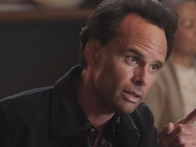 Walton Goggins Reveals Rare Photo of His Mom During Social Distancing Visit