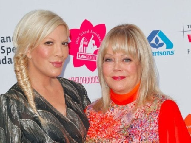 Tori Spelling and Mom Candy Look Like Twins in Throwback Photo