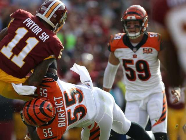 Shannon Sharpe: Vontaze Burfict Has Intent of Hurting Others