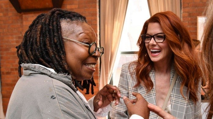 whoopi-goldberg-debra-messing-getty