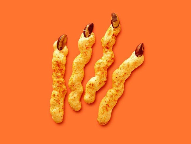 Witch-Finger Cheese Straws