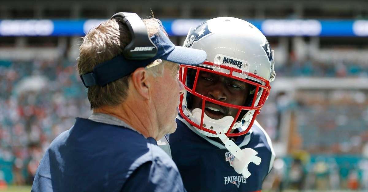 Antonio Brown New England Patriots return Instagram post