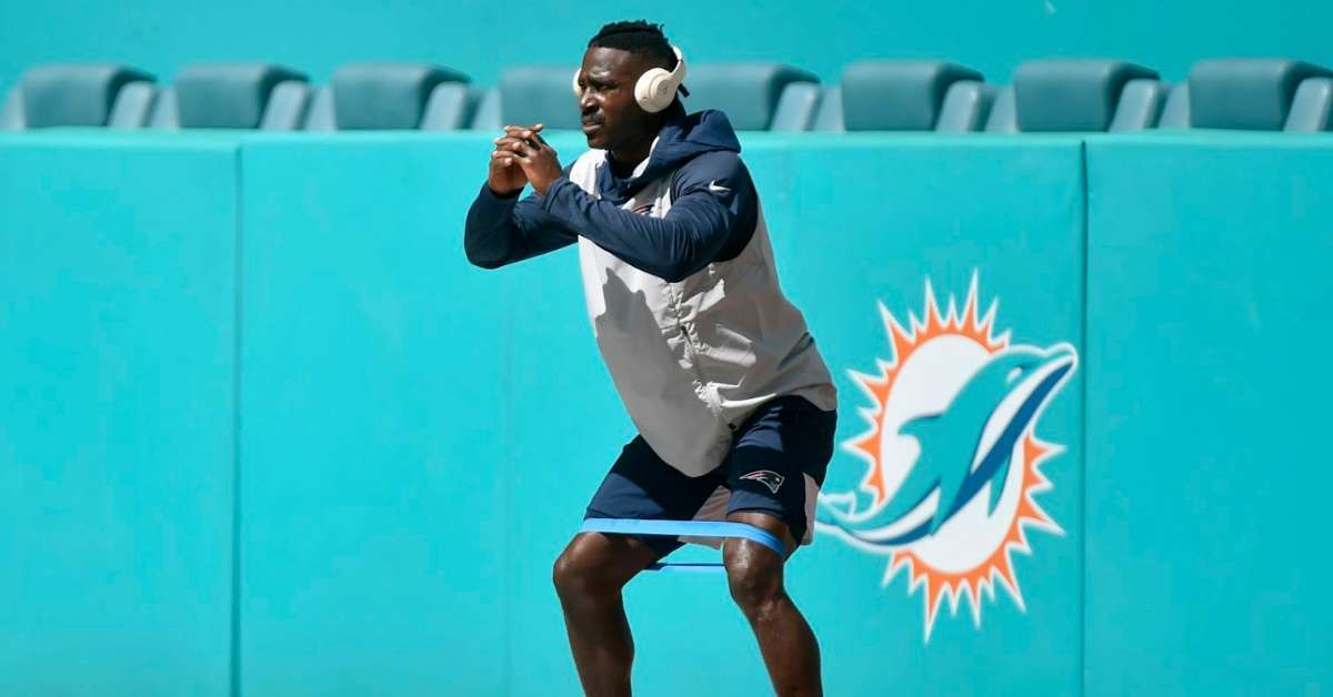 Antonio Brown training NFL comeback