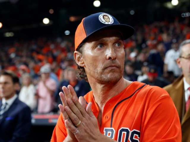 Astros Fans Blame Matthew McConaughey for Their World Series Loss
