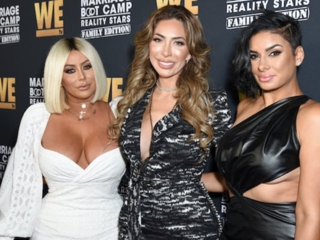 Aubrey O'Day Looks 'Unrecognizable' Alongside Farrah Abraham at 'Marriage Boot Camp' Premiere
