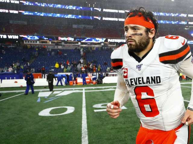 Browns QB Baker Mayfield Leaves Press Conference After Argument With Reporter Tony Grossi