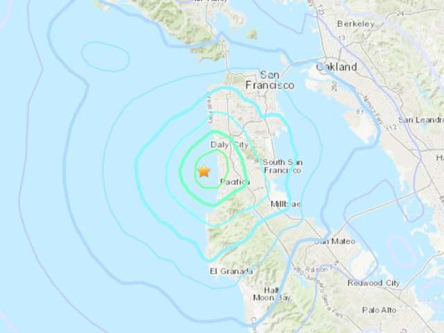 Earthquake Strikes San Francisco Bay Area