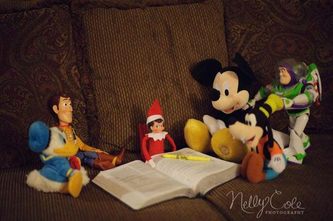 elfe-d'étude de la Bible