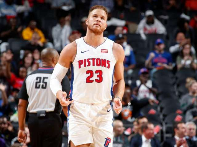 Blake Griffin Injured and Will Miss the Start of Pistons Season