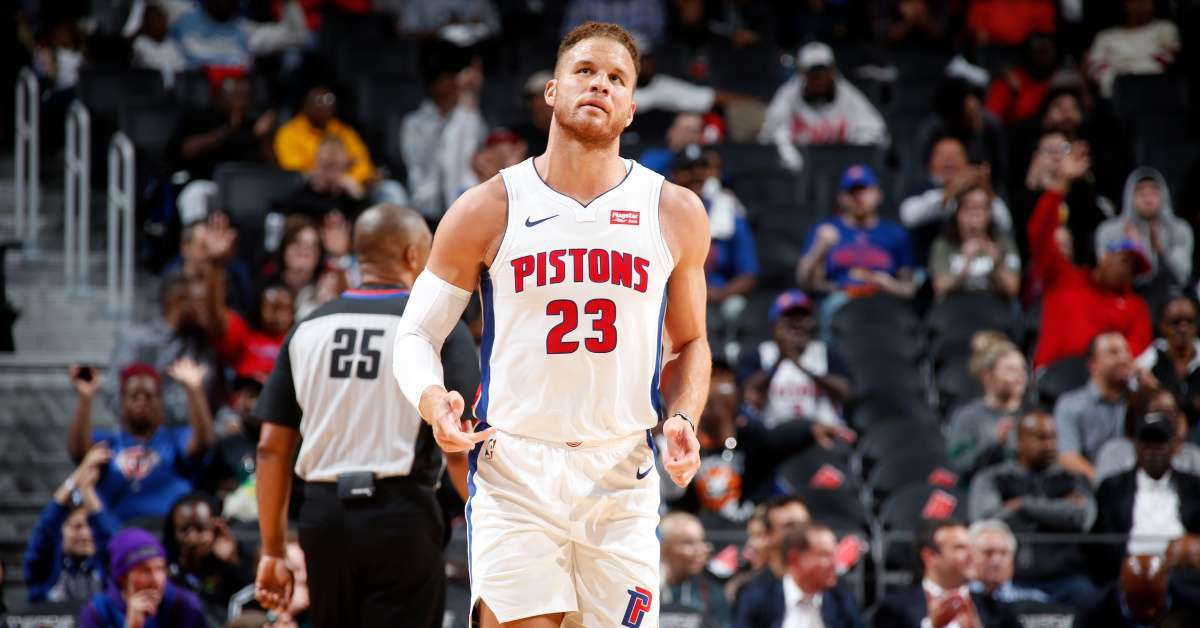 Blake Griffin injured miss start Pistons season