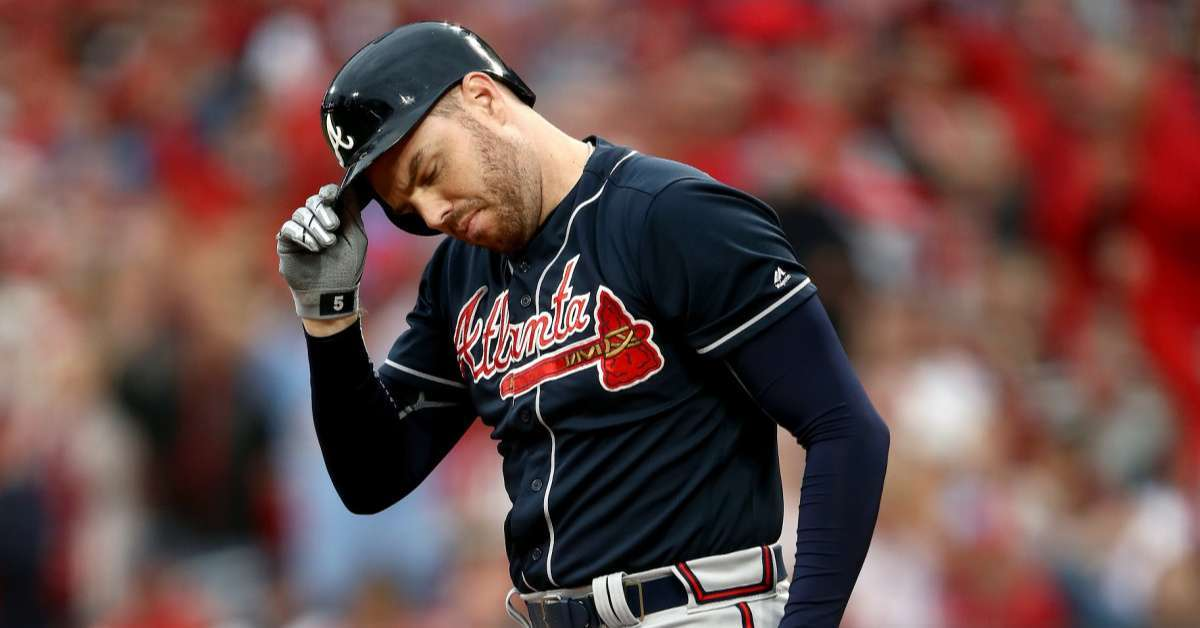 Braves Freddie Freeman playoff performance lackluster backlash