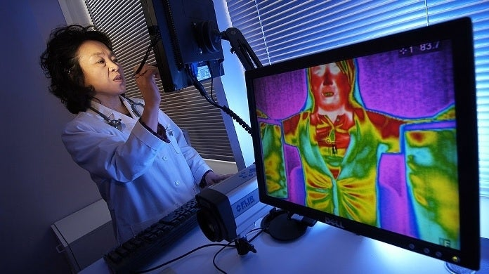 breast cancer infrared getty images