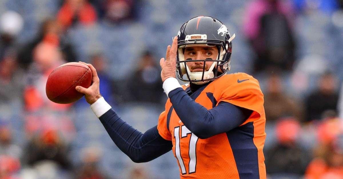 Brock Osweiler Denver Broncos retires NFL 28 (1)