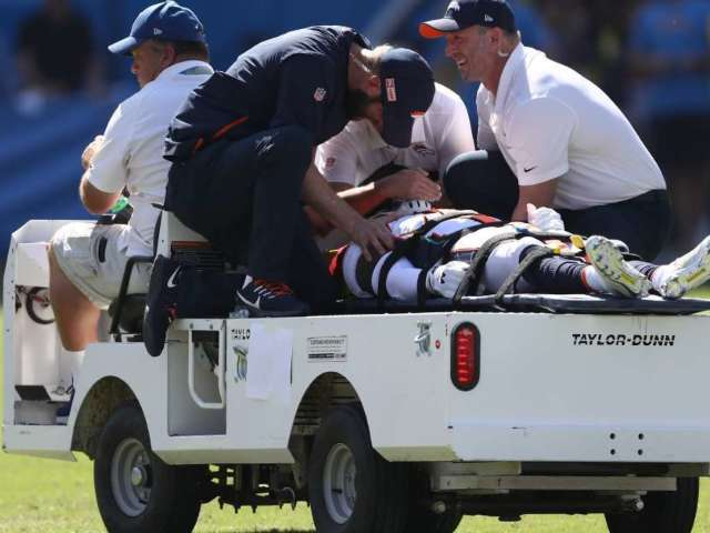 Broncos' De'Vante Bausby Says He Was Paralyzed for 30 Minutes After Helmet-to-Helmet Hit During Chargers Game