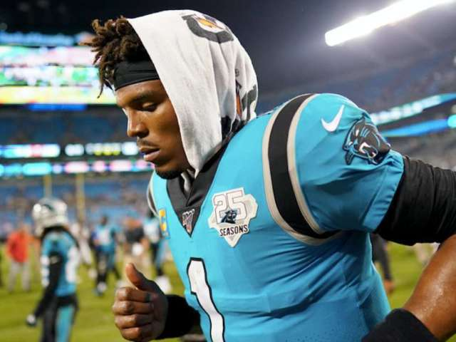Injured QB Cam Newton Traveling With Panthers to San Francisco