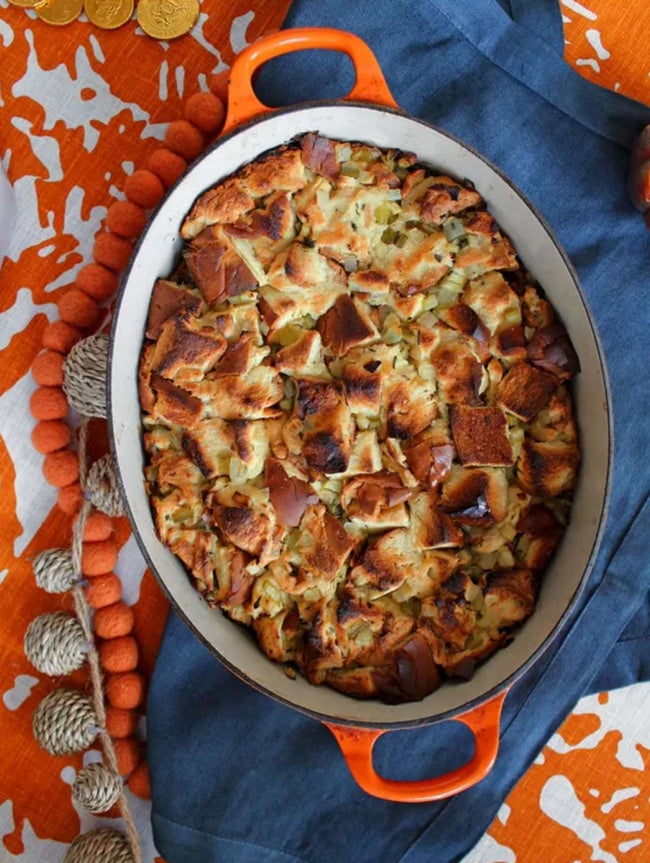 Challah-Apple Stuffing