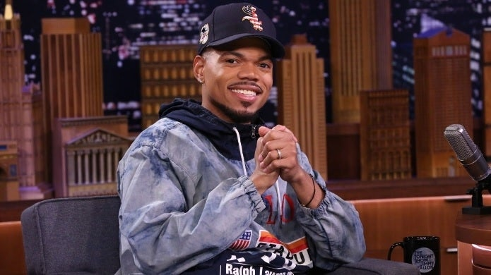 chance the rapper tonight show nbc getty images