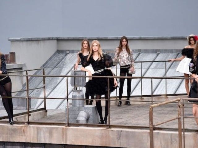 Chanel Runway at Paris Fashion Week Crashed by Comedian Who Jumped Onstage
