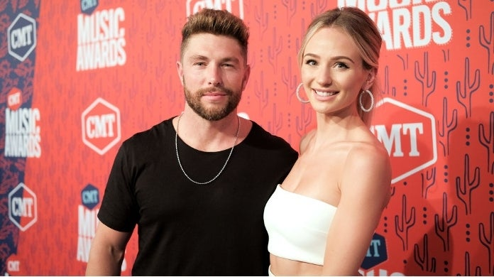 chris lane lauren bushnell getty images