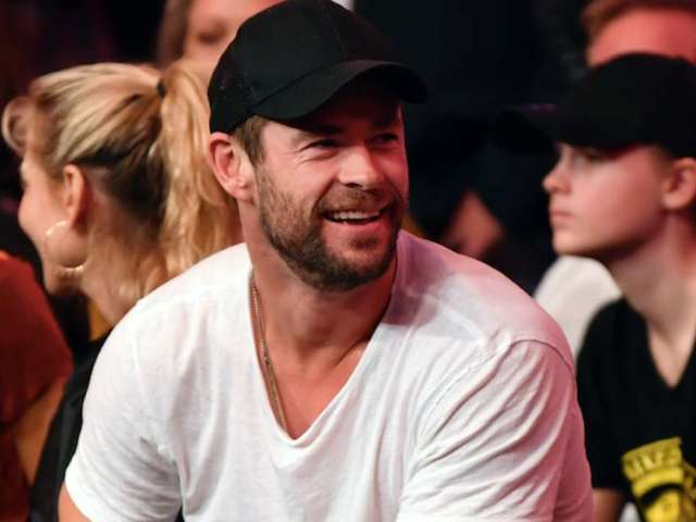 UFC 243: Chris Hemsworth Spotted Supporting Robert Whittaker Cageside at Israel Adesanya Fight