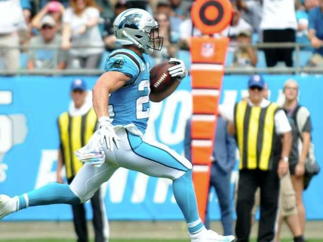Panthers RB Christian McCaffrey Outperforming Ezekiel Elliott, Todd Gurley