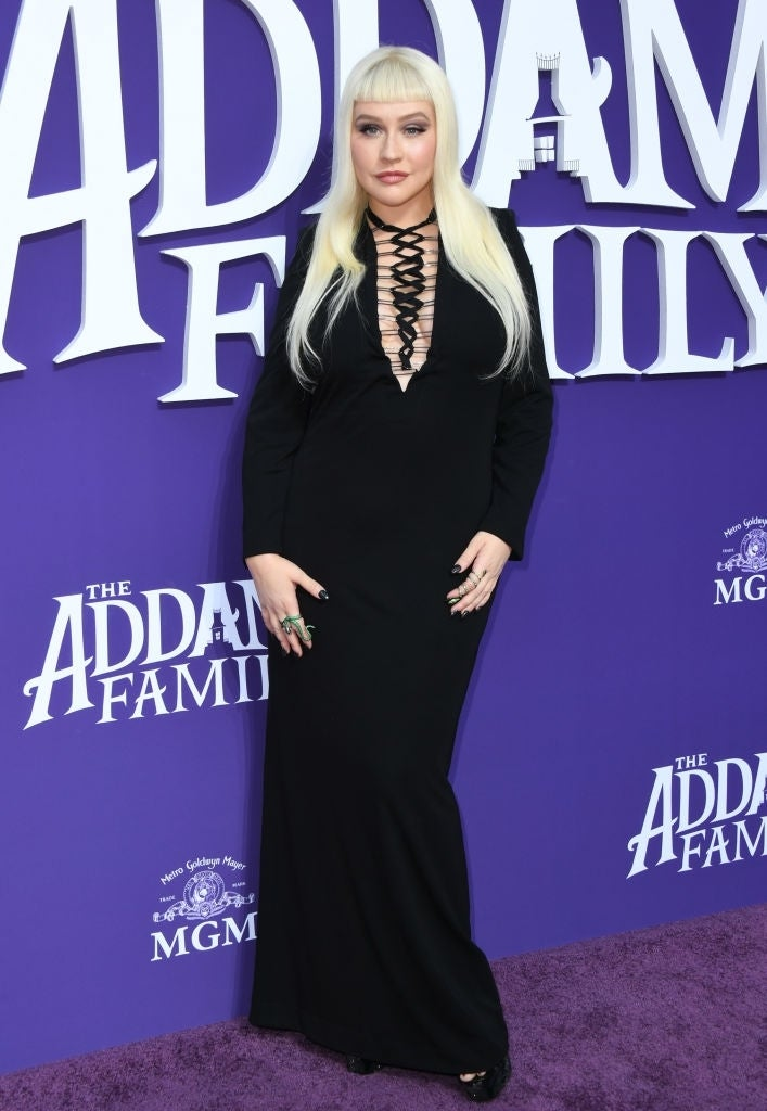 Christina Aguilera Fan Posts Close And Personal Concert Video Loving Her Outfit
