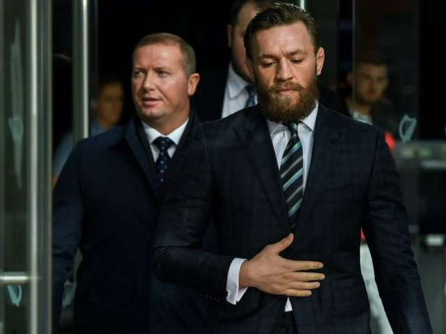 Conor McGregor Takes Jab at Meghan Markle and Prince Harry in New Photo With Girlfriend Dee Devlin