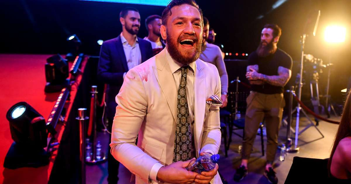Conor McGregor sexual assault allegation russian reporter shut down