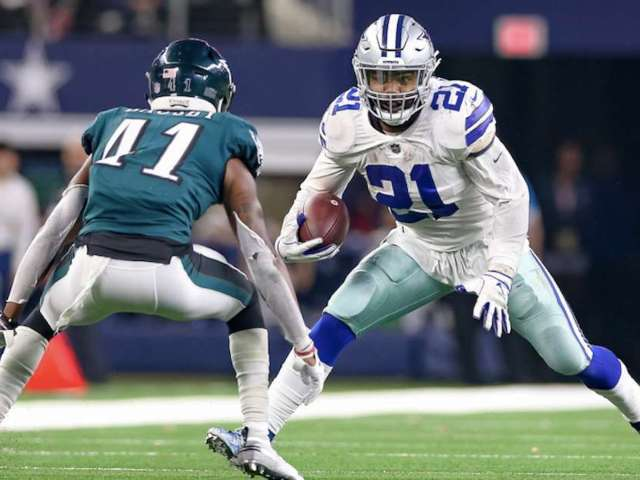 NFL Fan Wears Cowboys-Eagles Jersey to Rivalry Game, and Social Media Reactions Are Wild