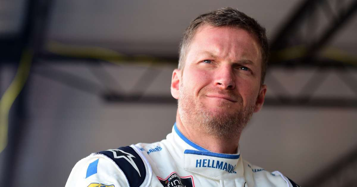 Dale Earnhardt Jr honors late NASCAR star father portrait daughter Isla