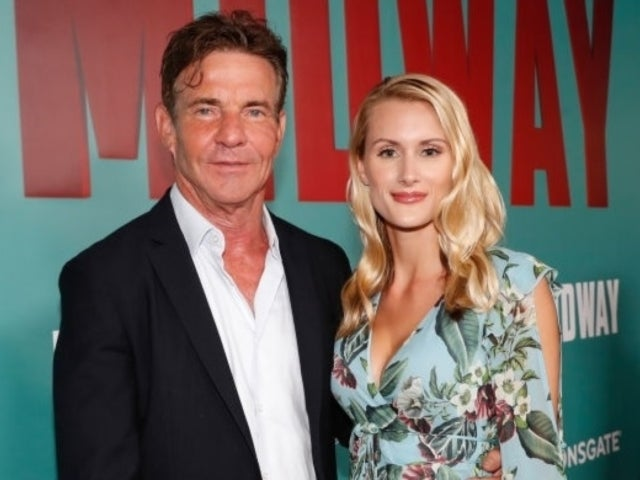 Dennis Quaid Engaged to 26-Year-Old Laurie Savoie, and the 'Parent Trap' Jokes Are Rolling In