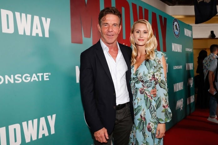 dennis-quaid-laura-savoie_getty-Marco Garcia : Stringer