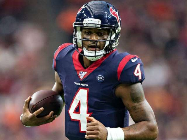 Texans QB Deshaun Watson Cancels World Series Appearance After 'Minor Setback' With Swollen Left Eye