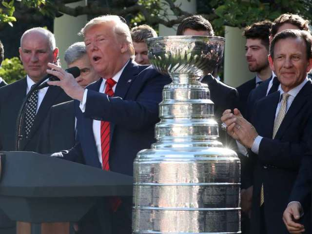 Donald Trump Pokes Fun at St. Louis Blues Player Alexander Steen, Wonders If He 'Could Take Him in a Fight'