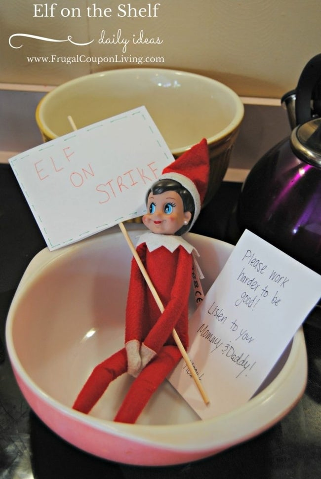 elf-on-strike-elf-on-the-shelf-ideas-frugal-coupon-living-e1568594741360