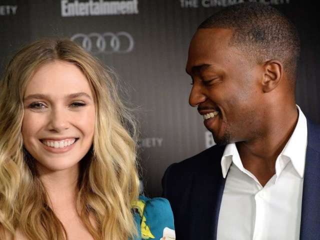 Elizabeth Olsen Curses out Anthony Mackie Over Fantasy Football Feud