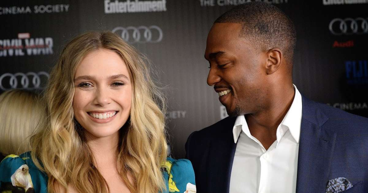 Elizabeth Olsen curses out Anthony Mackie fantasy football feud