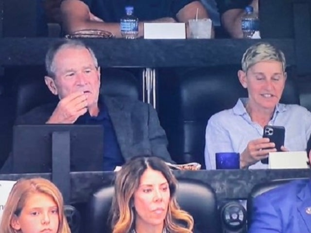 Ellen DeGeneres With President Bush at Cowboys Game Left Fans Puzzled and Angry