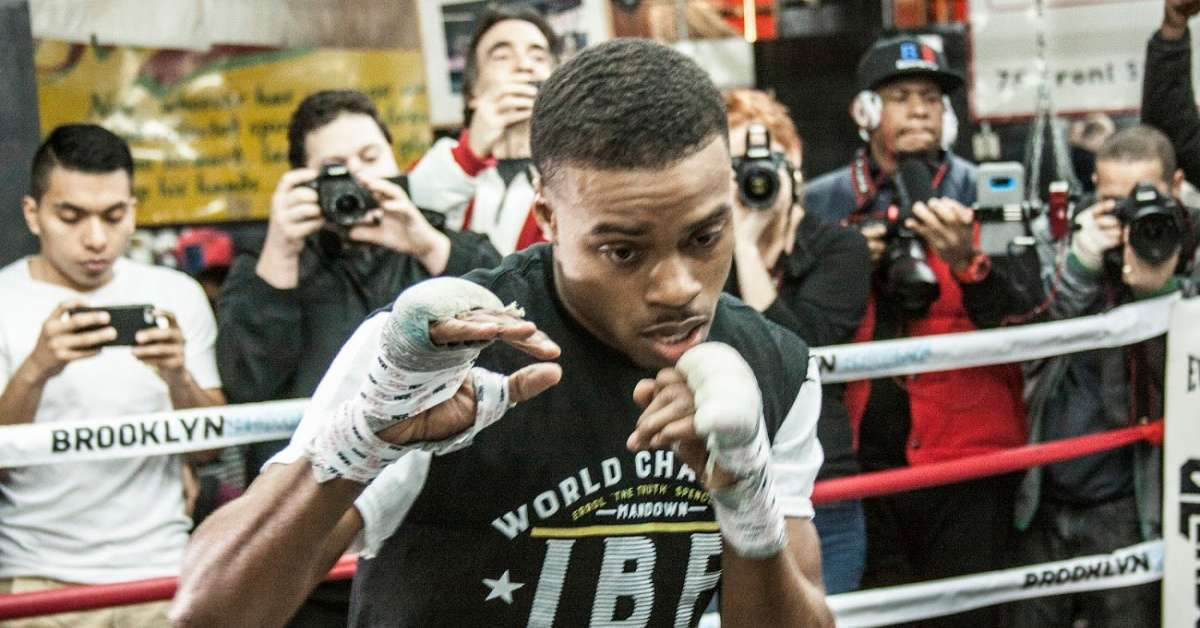 Errol Spence car accident video released